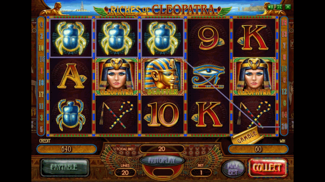 популярный слот Riches Of Cleopatra 2