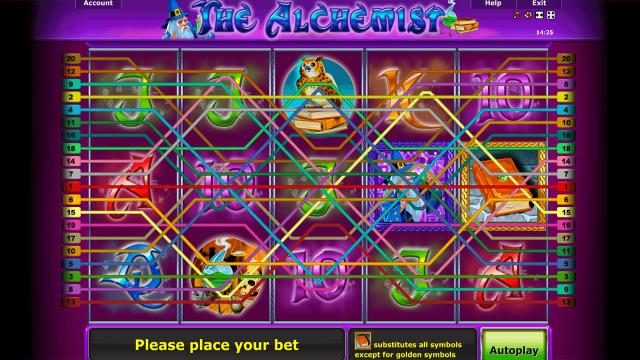 игровой автомат The Alchemist 1