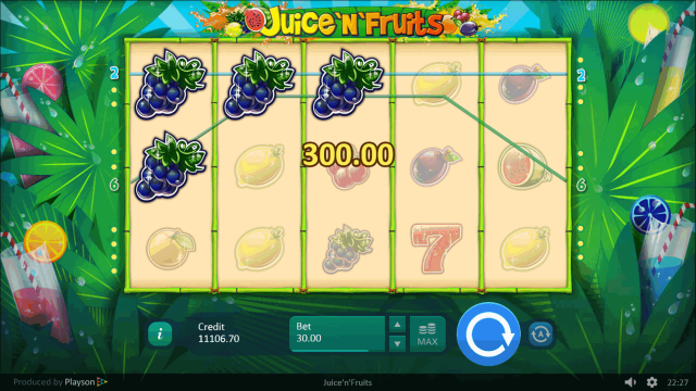 популярный слот Juice 'N' Fruits 8