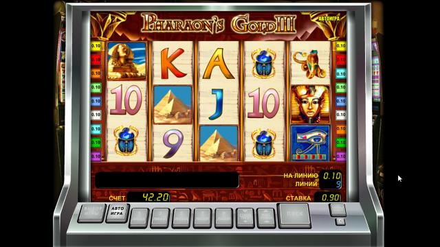 игровой автомат Pharaoh's Gold III 8