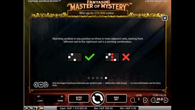 игровой автомат Fantasini: Master Of Mystery 4
