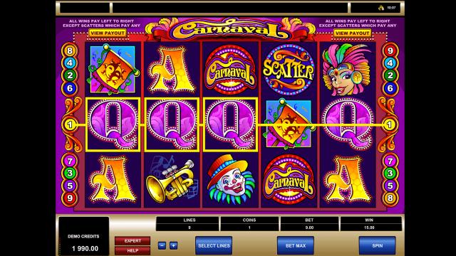 онлайн аппарат Carnaval 5
