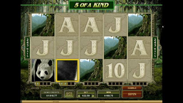 игровой автомат Untamed Giant Panda 10