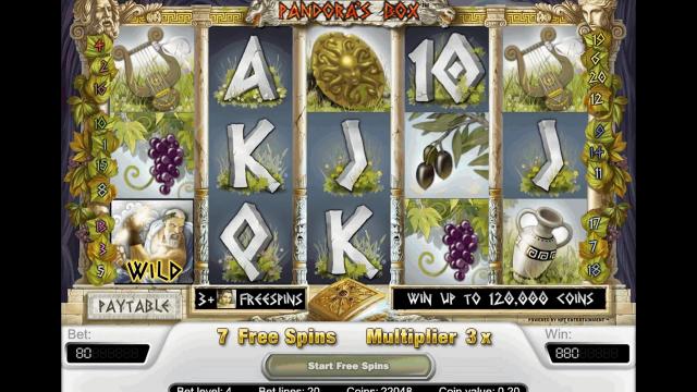 игровой автомат Pandora's Box 4