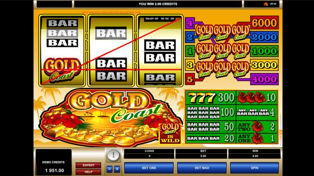 игровой автомат Gold Coast 9