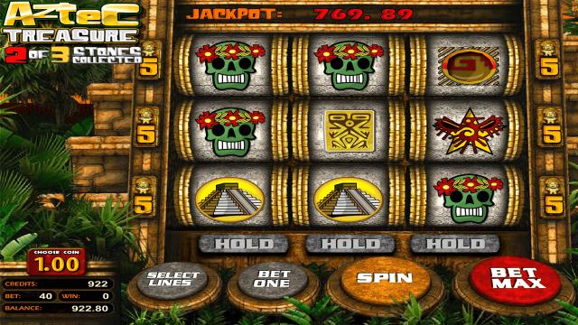 онлайн аппарат Aztec Treasure 2D 9