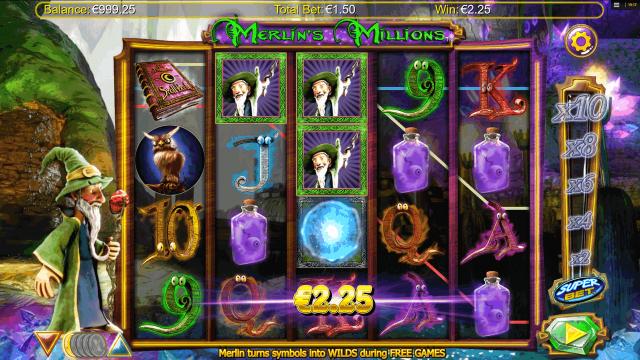 популярный слот Merlin's Millions 2
