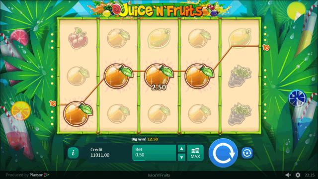онлайн аппарат Juice 'N' Fruits 3