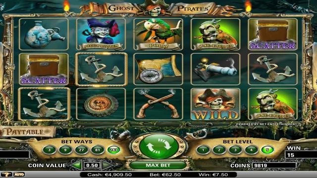 игровой автомат Ghost Pirates 10