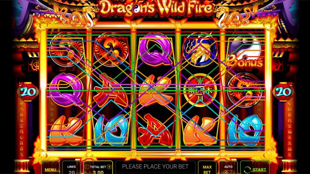 игровой автомат Dragon's Wild Fire 8