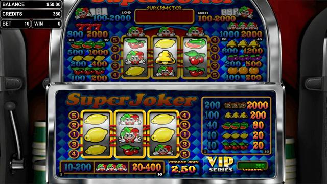игровой автомат Super Joker VIP 1