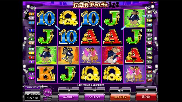 онлайн аппарат The Rat Pack 9