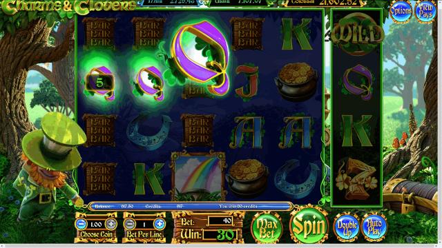 игровой автомат Charms And Clovers 8