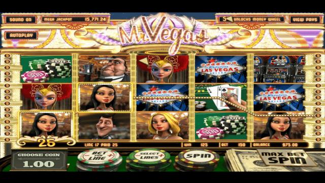 популярный слот Mr. Vegas 7