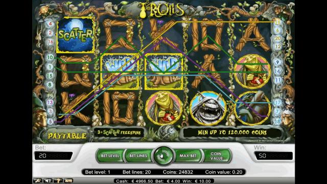 игровой автомат Trolls 7