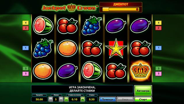 игровой автомат Jackpot Crown 7