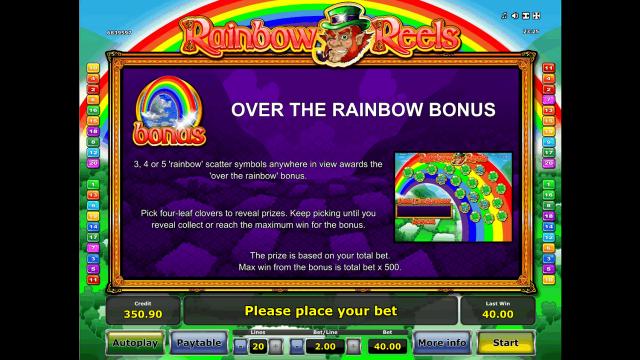 популярный слот Rainbow Reels 8