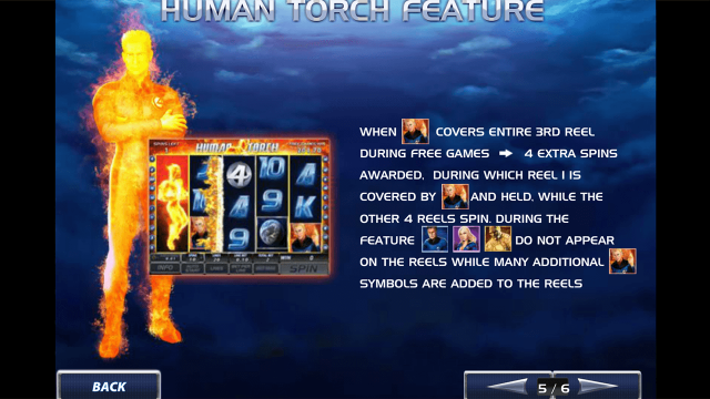игровой автомат Fantastic Four 7