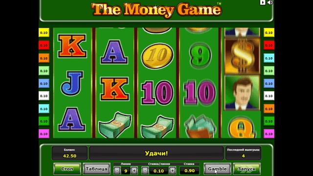 популярный слот The Money Game 8