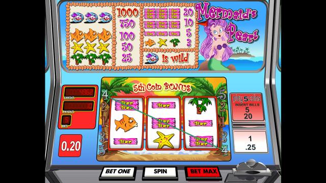 игровой автомат Mermaid's Pearl by Betsoft 5
