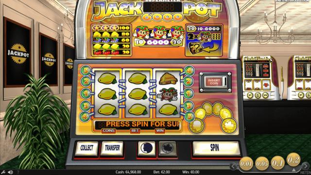 игровой автомат Jackpot 6000 9