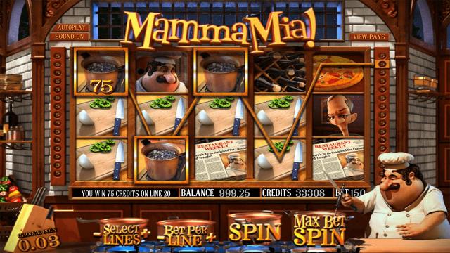 игровой автомат Mamma Mia 9