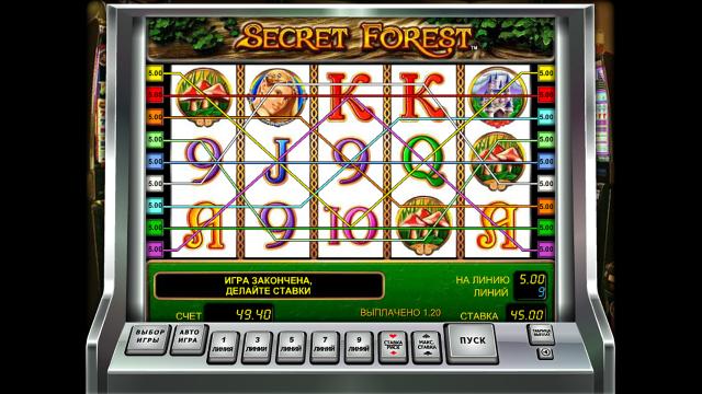 игровой автомат Secret Forest 4