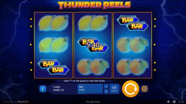 онлайн аппарат Thunder Reels 2