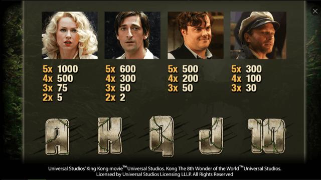 игровой автомат King Kong 2