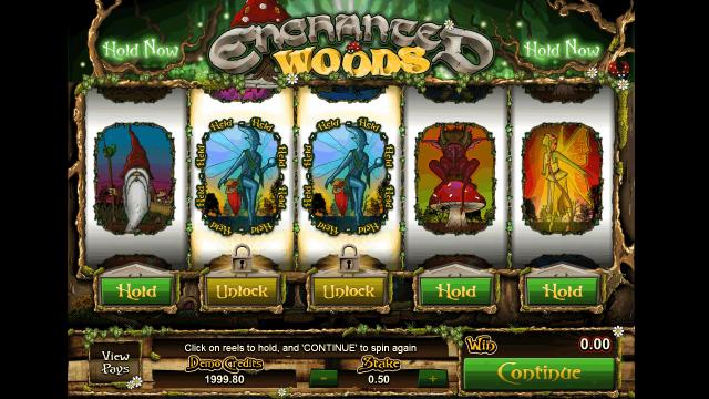 популярный слот Enchanted Woods 6