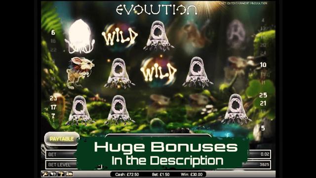 популярный слот Evolution 4