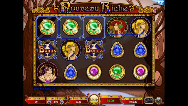 игровой автомат Nouveau Riche 6
