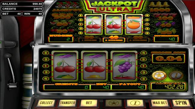 онлайн аппарат Jackpot Ultra 3