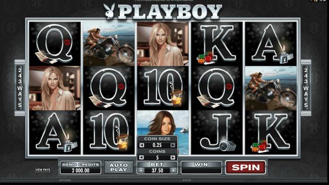 игровой автомат Playboy 10