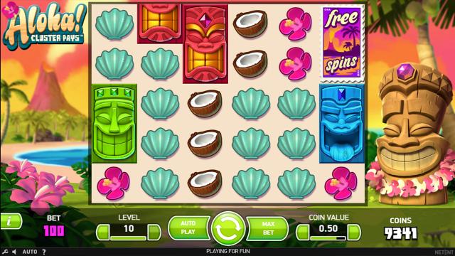 игровой автомат Aloha Cluster Pays 9