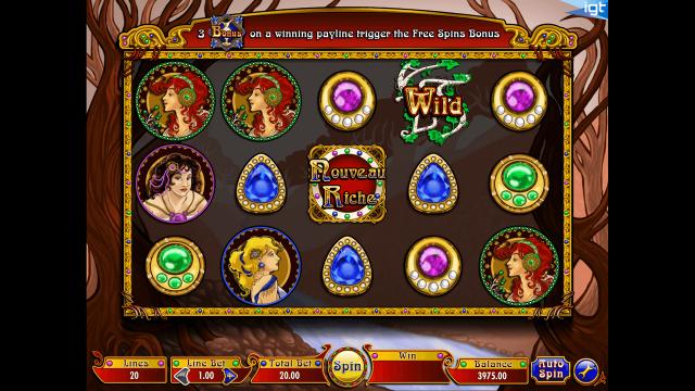 игровой автомат Nouveau Riche 1