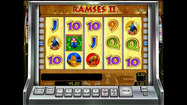 игровой автомат Ramses II 4