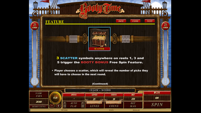 игровой автомат Booty Time 7