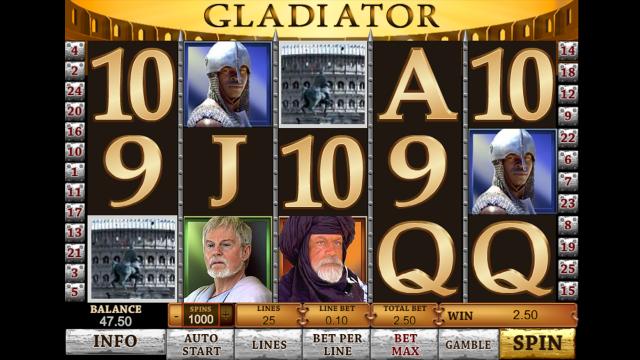 популярный слот Gladiator 3