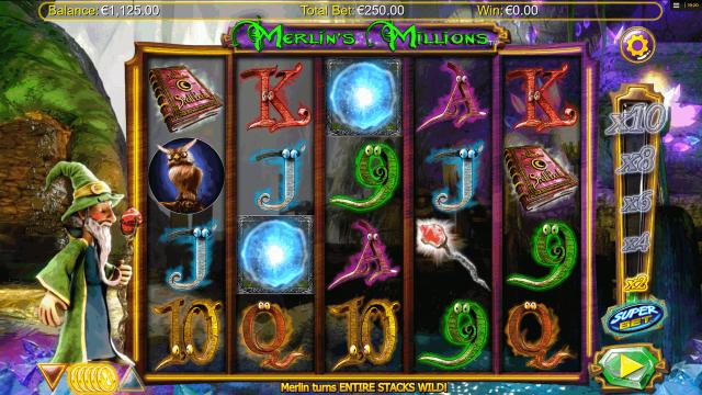популярный слот Merlin's Millions 9