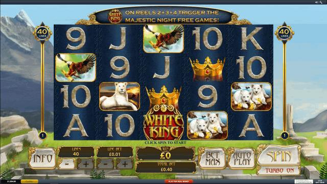 популярный слот White King 6