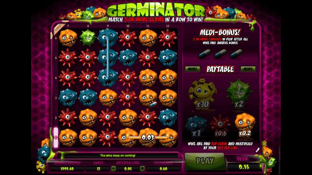 игровой автомат Germinator 1