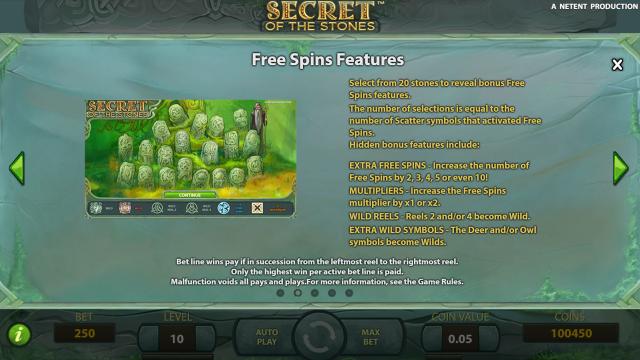 игровой автомат Secret Of The Stones 2