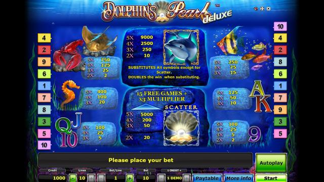 игровой автомат Dolphin's Pearl Deluxe 4