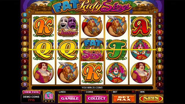 игровой автомат Fat Lady Sings 6