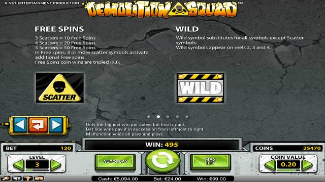 онлайн аппарат Demolition Squad 2
