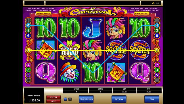 игровой автомат Carnaval 8