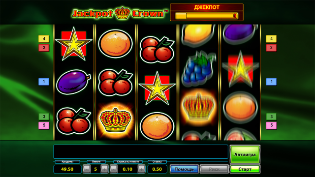 популярный слот Jackpot Crown 8