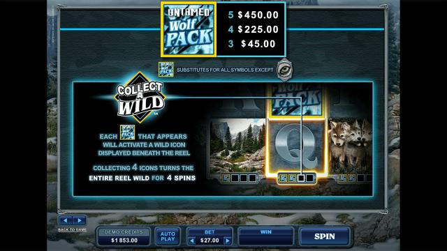 игровой автомат Untamed Wolf Pack 6
