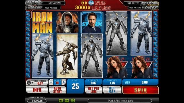 онлайн аппарат Iron Man 2 6
